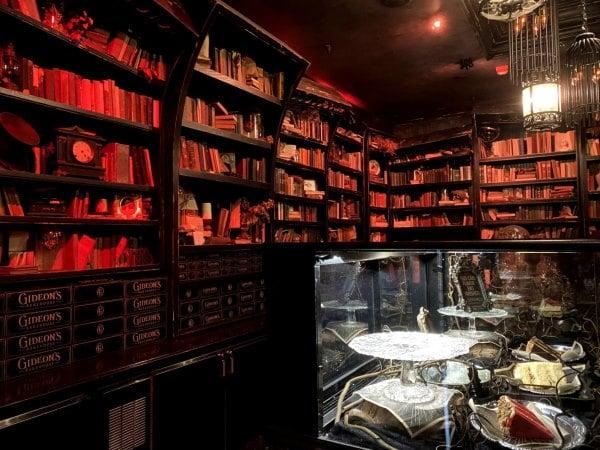 Shelves and theming inside Gideon's Bakehouse