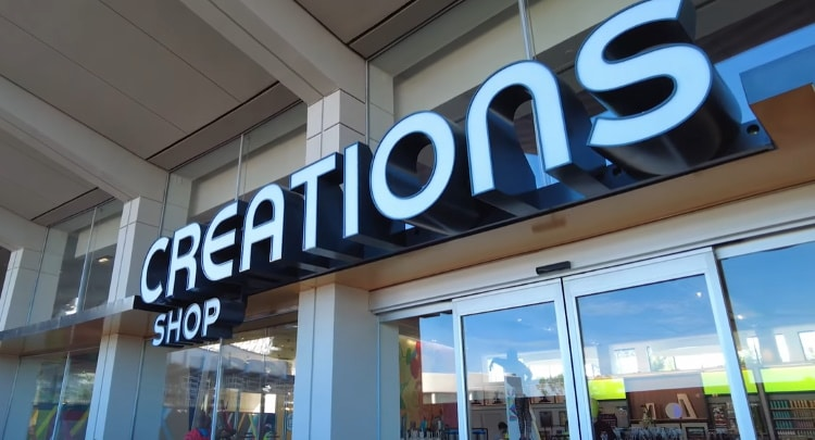 Creations Shop Store Sign